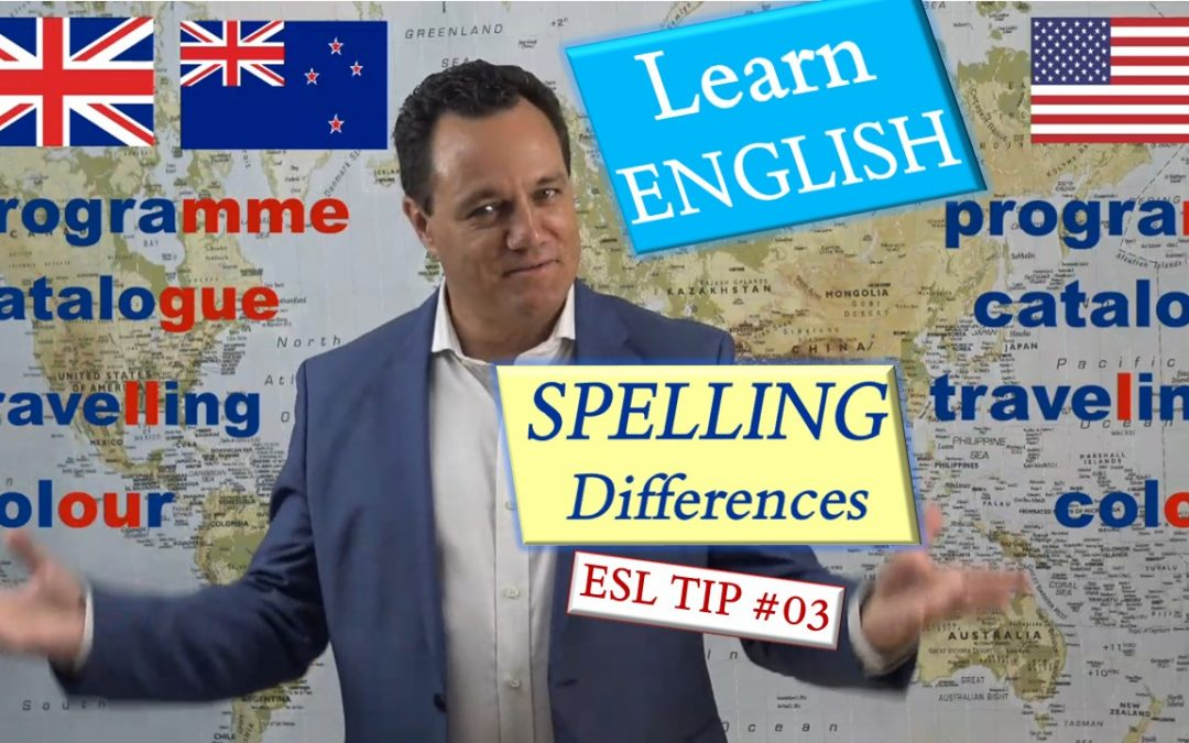 British vs American vs New Zealand English. Spelling differences & Culture