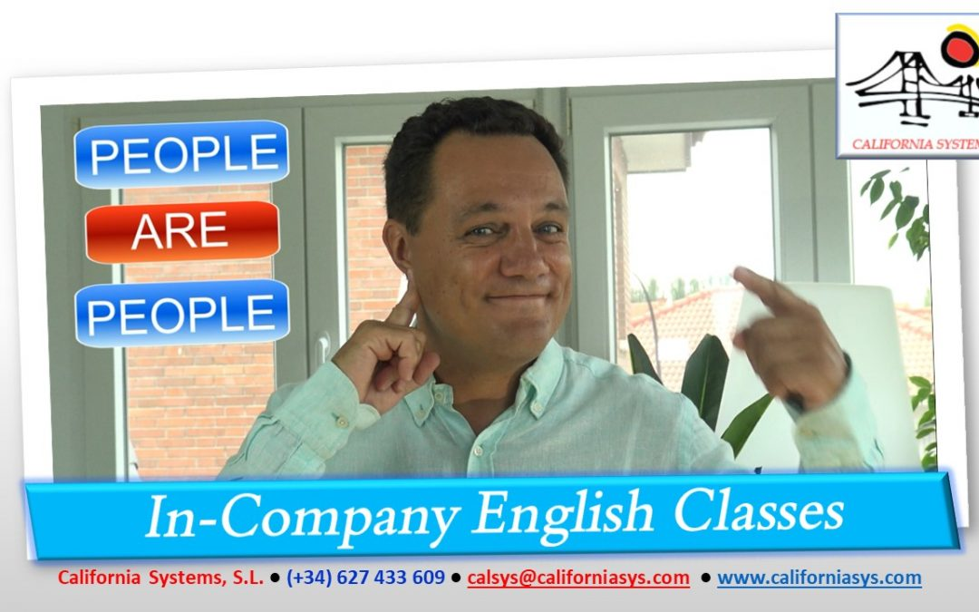 Aprende Inglés. People ARE!