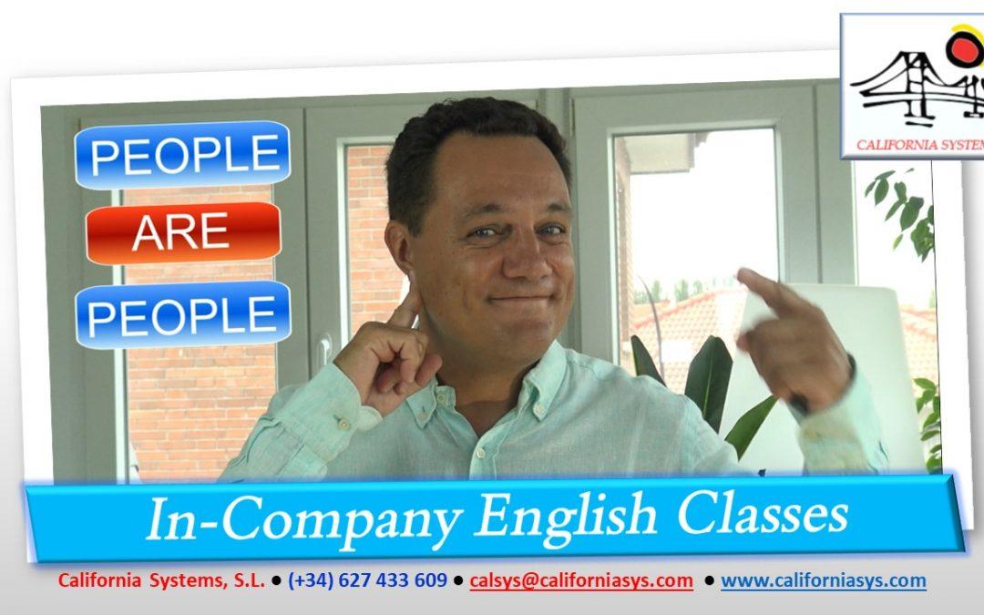 Aprende Inglés. People ARE!
